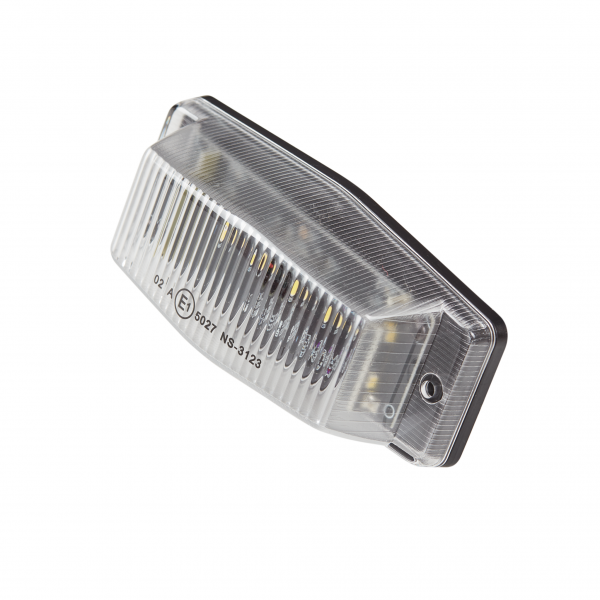 Full LED dubbelbrander 24V - Helder/wit